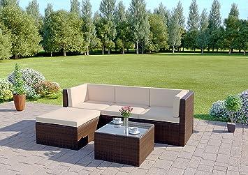 rattan wicker weave garden furniture conservatory modular corner sofa set includes outdoor protective cover 5 - Garden Furniture Corner Sofa