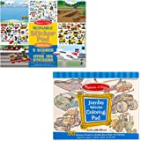 Melissa & Doug Sticker and Coloring Pad Set - Vehicles