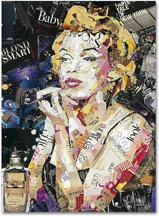 Wall Decor Poster.Fine Graphic Art Design.Marilyn Monroe.Room Home art.399