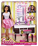 Barbie Doll with Hair Accessory, Dark Hair