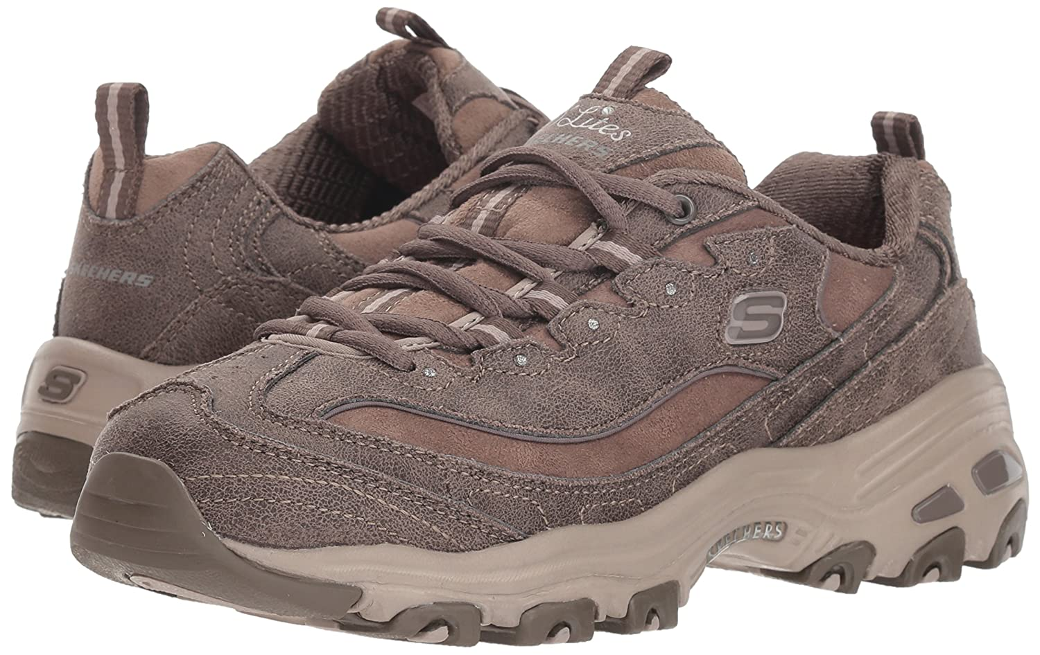 Skechers-D-039-Lites-Women-039-s-Casual-Lightweight-Fashion-Sneakers-Athletic-Shoes thumbnail 170