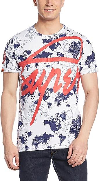 Superdry Crew International TE Camisa, Blanco (Optic01C), 2XL para Hombre: Amazon.es: Ropa y accesorios