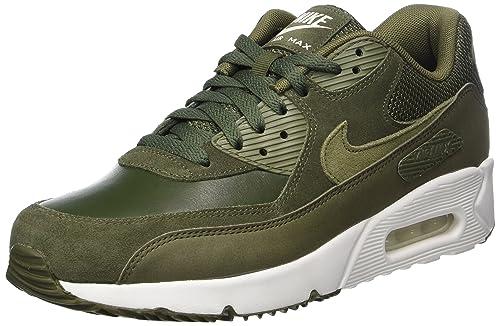 finest selection e632e f569d Nike Air Max 90 Ultra 20 Leather Cargo Khaki 924447 300-924447300 - Size