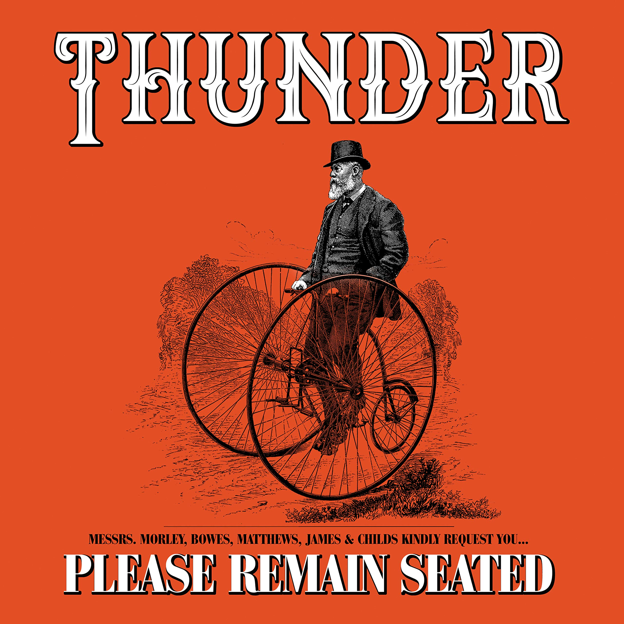 CD : Thunder - Please Remain Seated (CD)