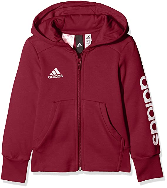 adidas Essentials 3S FZ Hoody Fleece Freizeit Jacken bei