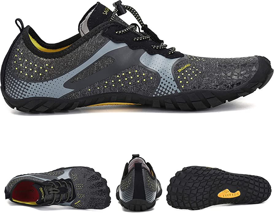 SAGUARO Zapatos Descalzos para Hombre Mujer Respirable Secado Rápido Minimalistas Zapatillas de Trail Running Unisexo: Amazon.es: Zapatos y complementos