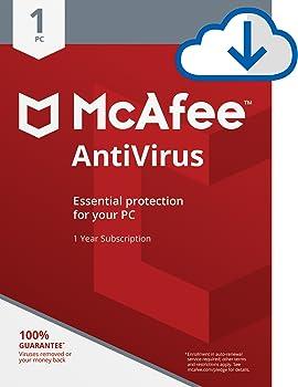 McAfee 2018 AntiVirus 1 PC [Online Code]