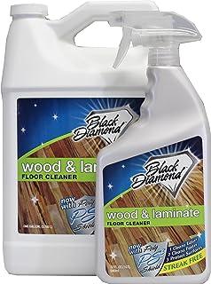 black diamond wood u0026 laminate floor cleaner for hardwood real natural u0026 engineered