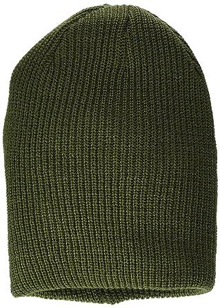 Womens Hat Beanie, Rot (Burgundy 21633), One Size Mavi