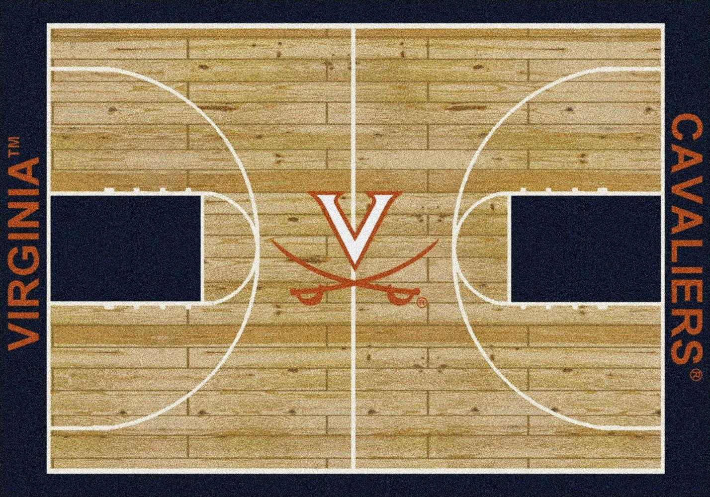 310 x 54 Milliken Virginia College Home Court Area Rug
