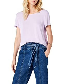 1516d4e0757 ONLY Damen Onlvic S/S Solid Top Noos WVN T-Shirt: Amazon.de: Bekleidung