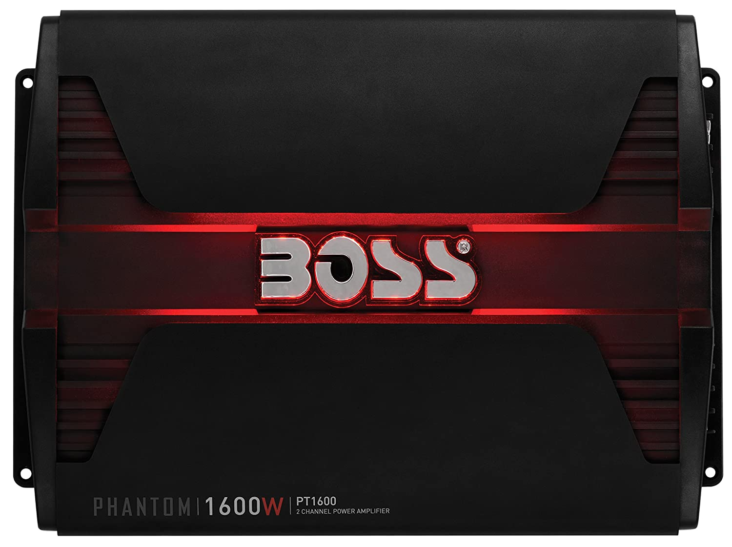 BOSS AUDIO PT3000 Phantom 3000-Watt Full Range, Class A/B 2 to 8 Ohm Stable 2 Channel Amplifier