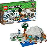 LEGO Minecraft The Polar Igloo 21142 Building Kit (278 Pieces) (Discontinued by Manufacturer)