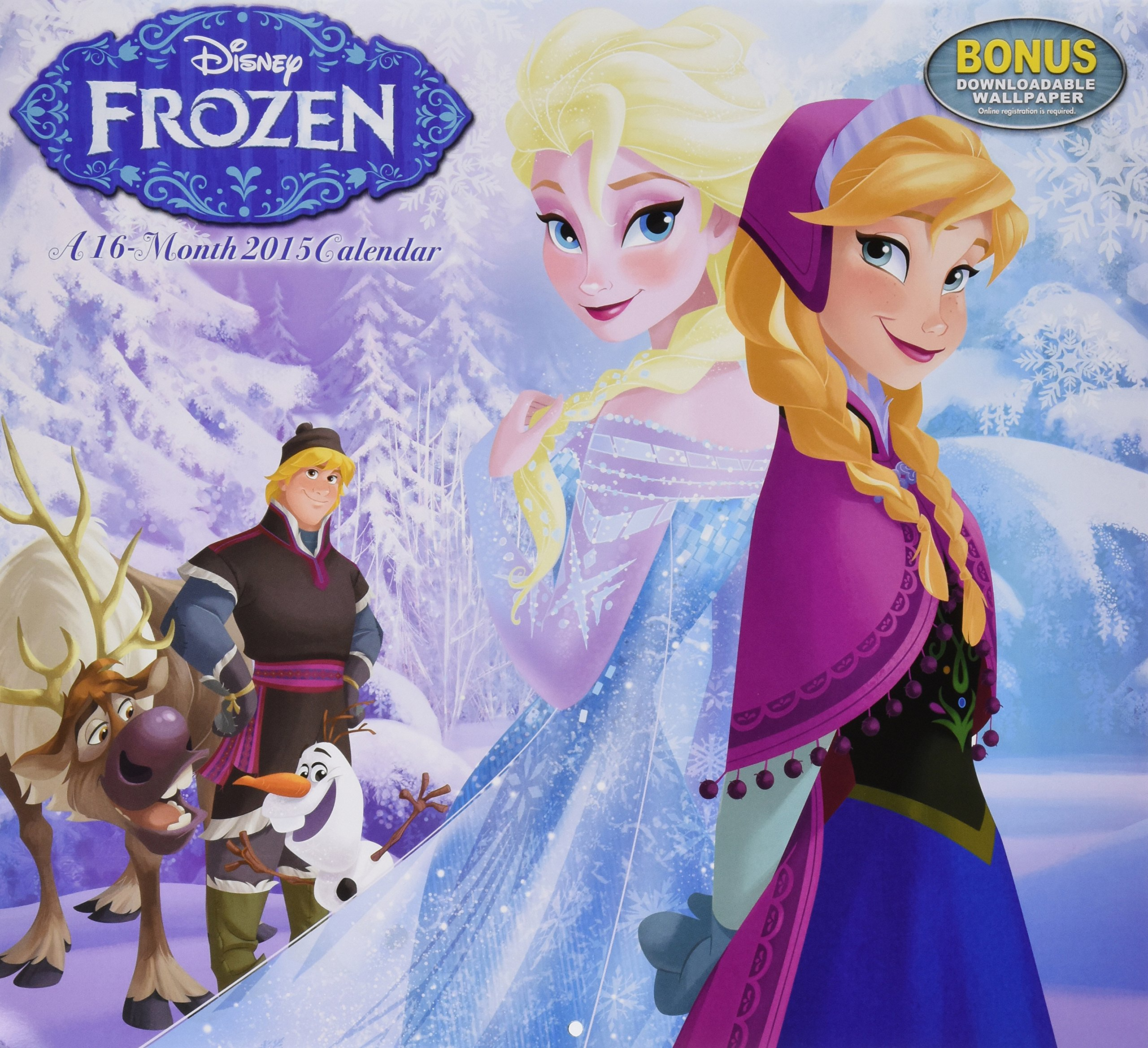 disney frozen wall calendar 2015 day dream 9781629051352 amazoncom books