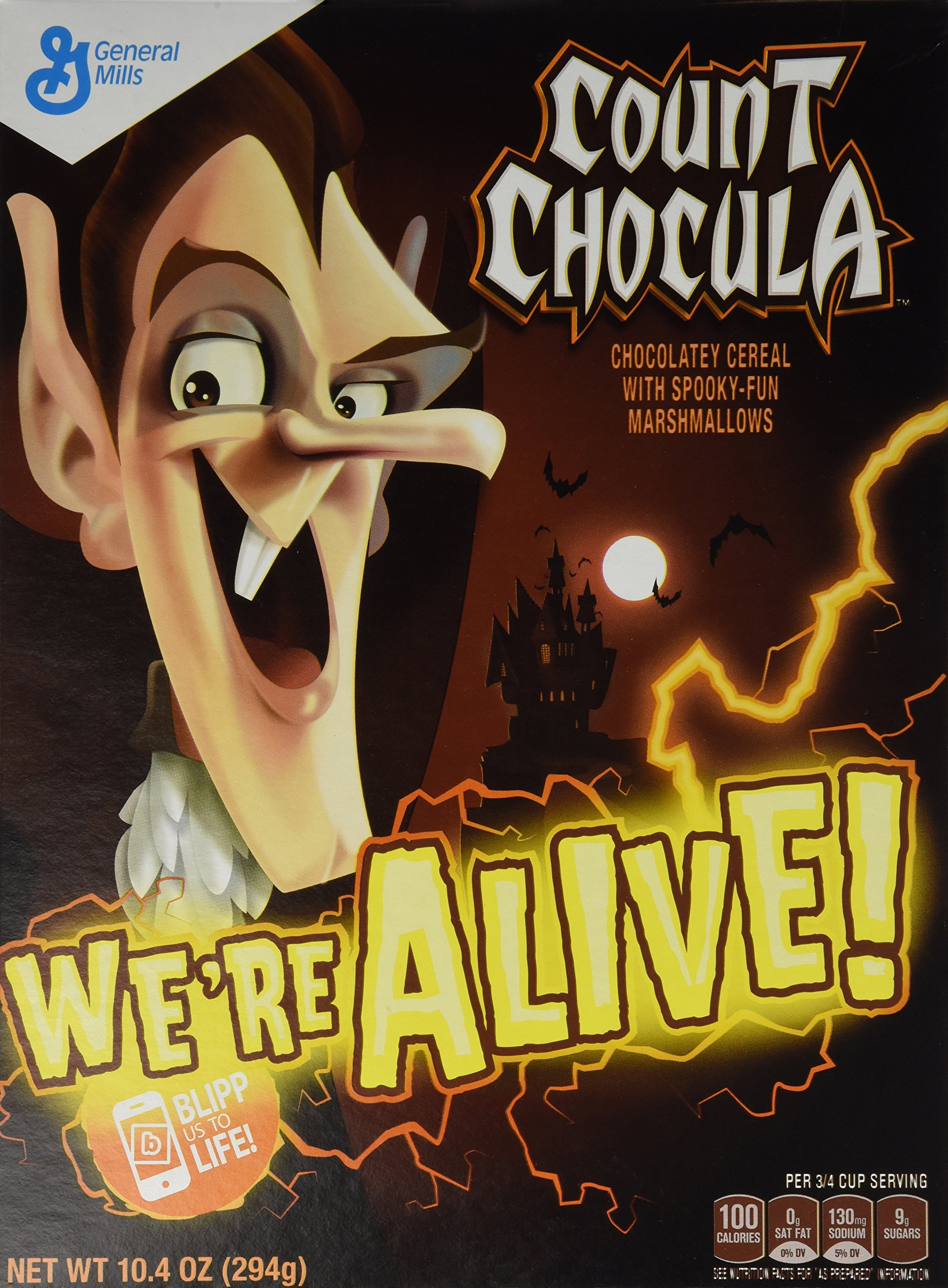 Count Chocula Monster Cereal 10.4 Ounce Box