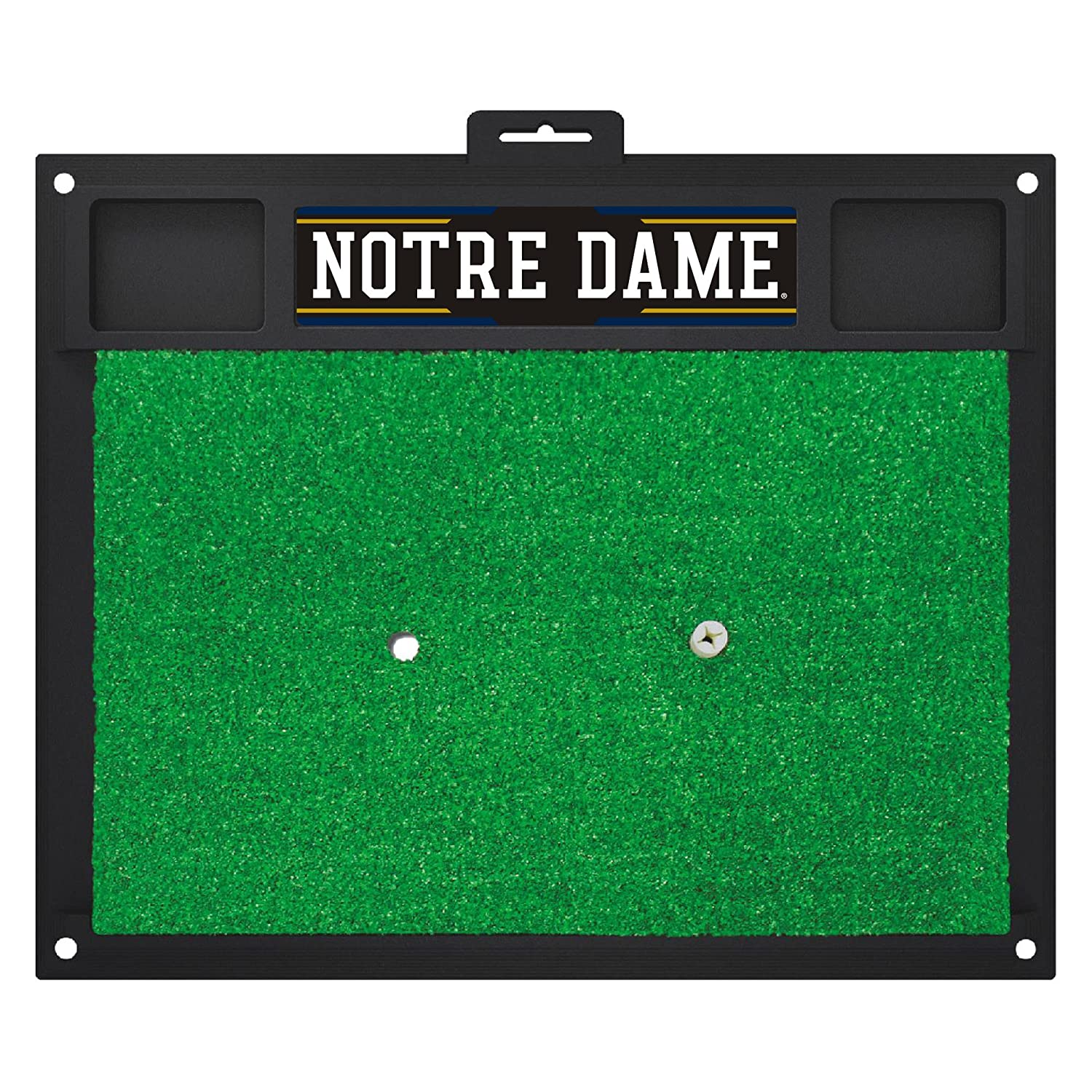 NCAA Notre Dame Fighting Irish Golf Hitting Matゴルフ練習アクセサリー   B07F1V2VYC