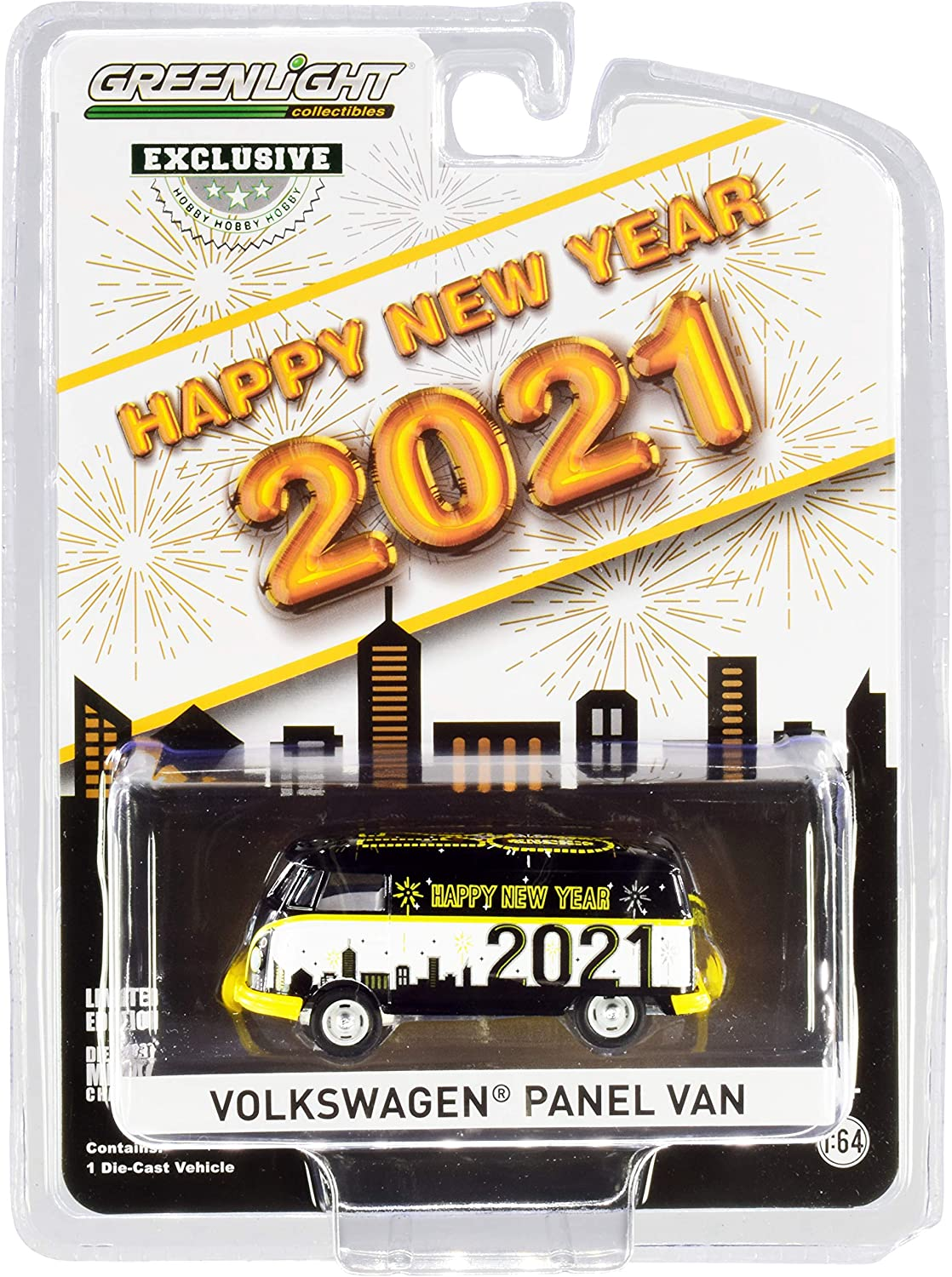 Volkswagen Panel Van Chinese Zodiac 2021 Year of The Ox Hobby Exclusive 1//64 Diecast Model by Greenlight 30223