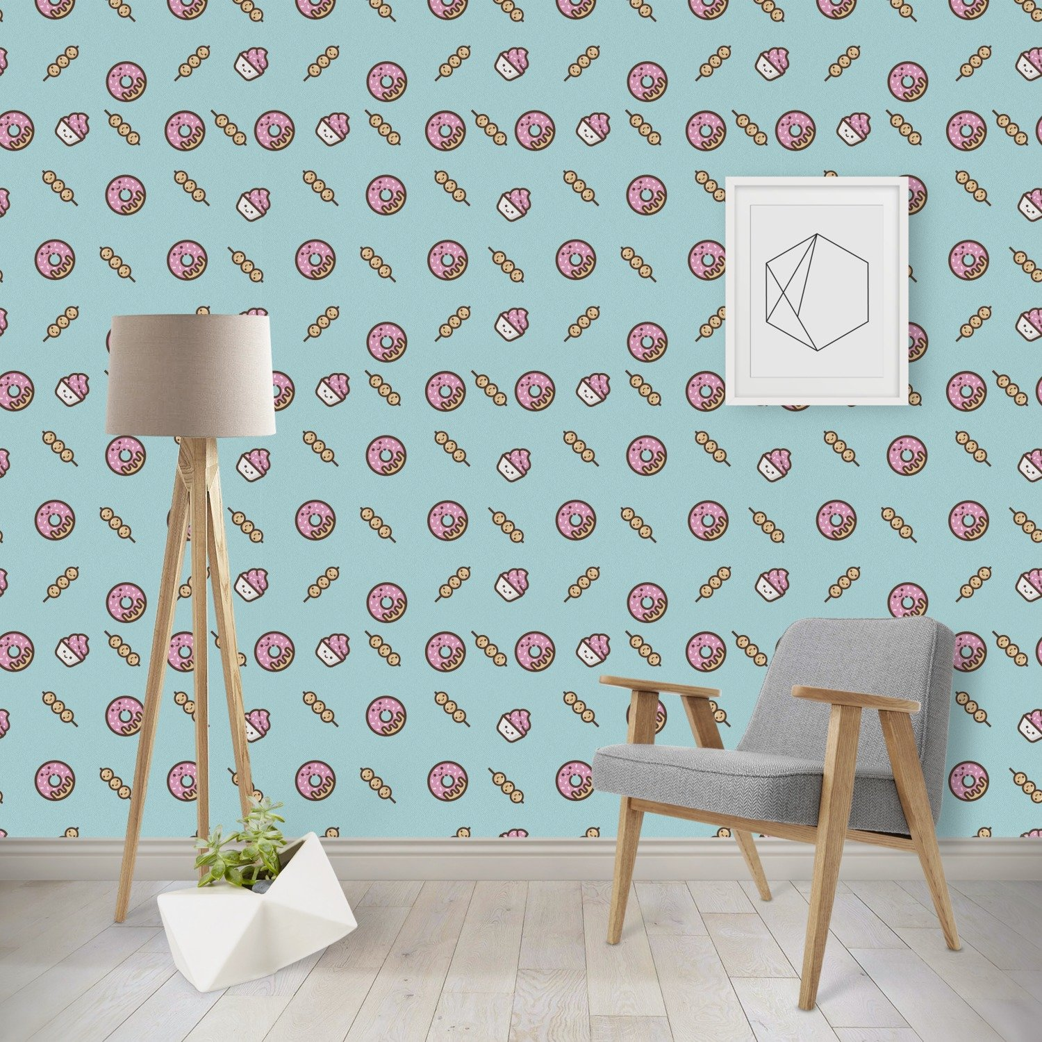 Amazon.com: Donuts Wallpaper & Surface Covering (Peel & Stick 24\