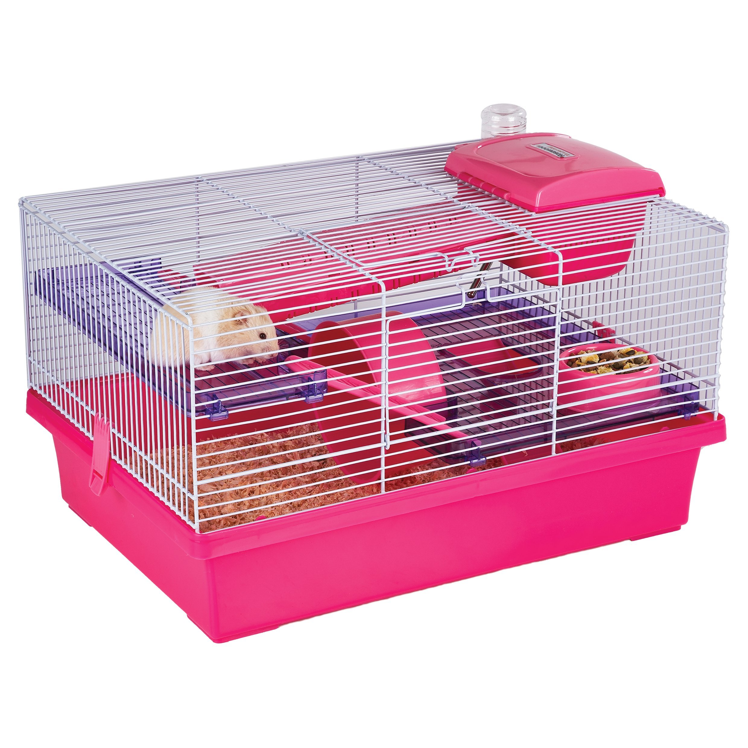 Pico Pink & Purple - Hamster & Small Animal Home/Cage by Rosewood Pet
