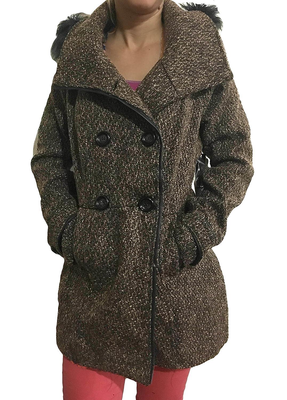 Ci Sono by Cavalini Women's Hooded Coat