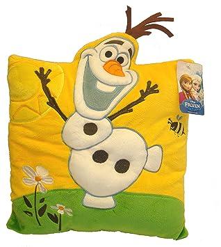 Disney Frozen 115218 - Cojín de peluche Frozen (115218) - Cojín Frozen Peluche Olaf