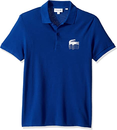 Lacoste Boys Graphic Croc Pique Polo Shirt