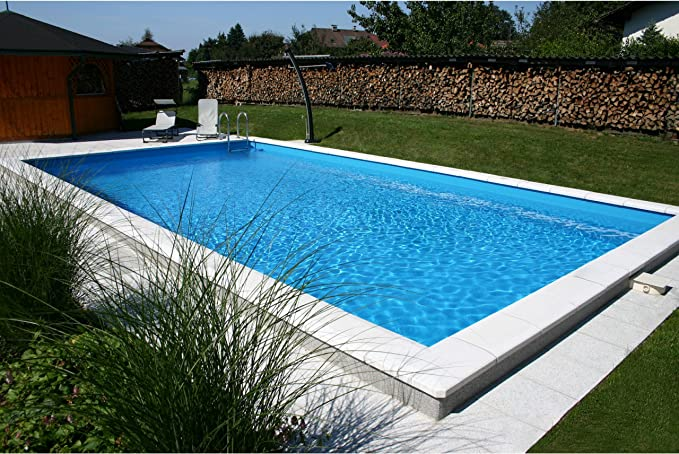 Styropor piscina rectangular piscinas kit altura 150 cm de piscina ...