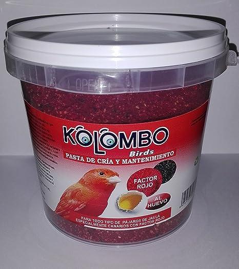 Pasta de cría y mantenimiento Factor Rojo (Formato 450 Gr)