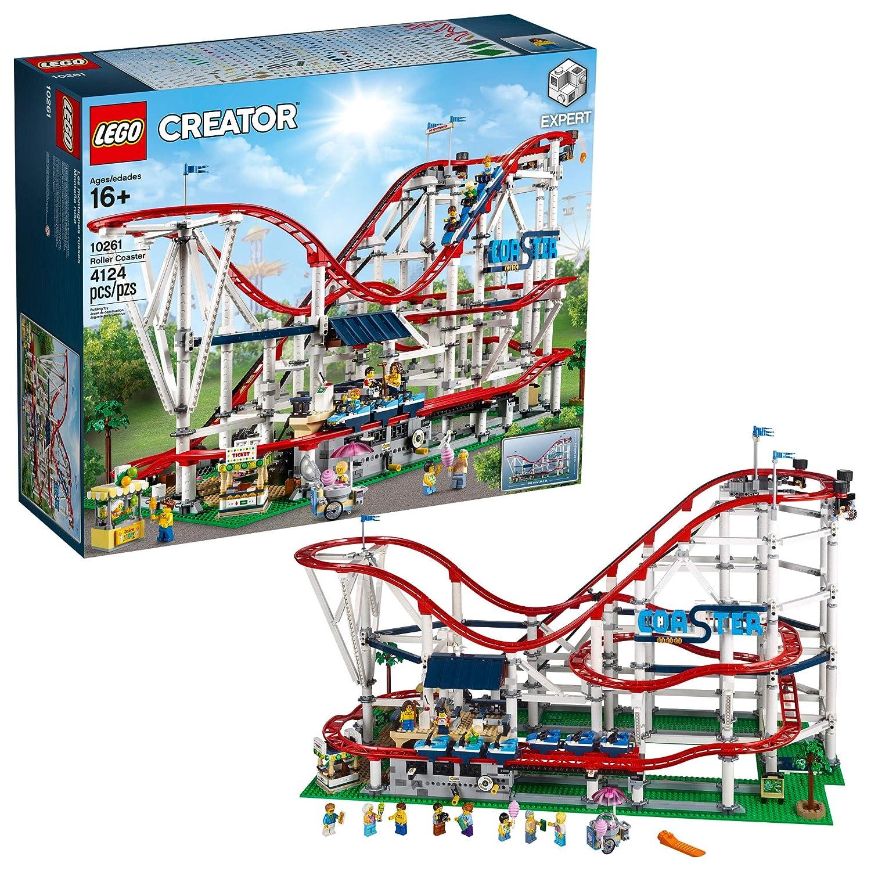 LEGO 6213412 Roller Coaster 10261 Kit de construcción, Multi: Amazon.es: Hogar