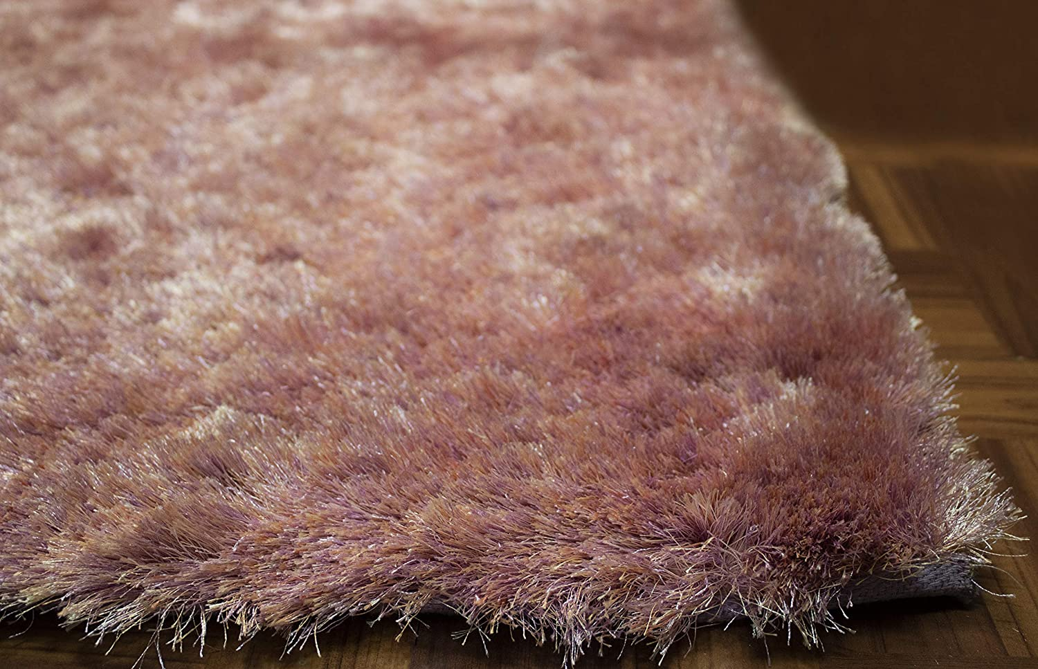 Amazon Com Light Purple Lavender Lilac Colors Two Tone 8x10 Feet Shag Shaggy 3d Area Rug Carpet Rug Indoor Bedroom Living Room Decorative Designer Modern Contemporary Plush Pile Polyester Made Canvas Backing Kitchen