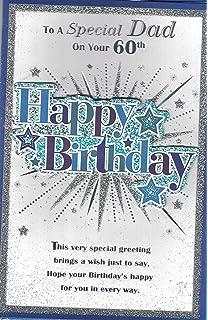 60th birthday card for a dad amazon kitchen home dad 60th birthday card to a special dad on your 60th happy birthday bookmarktalkfo Gallery