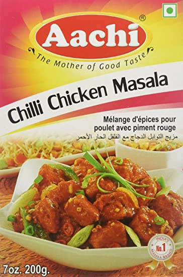 Amazon Aachi Chilli Chicken Masala 200g Cooking Marsala