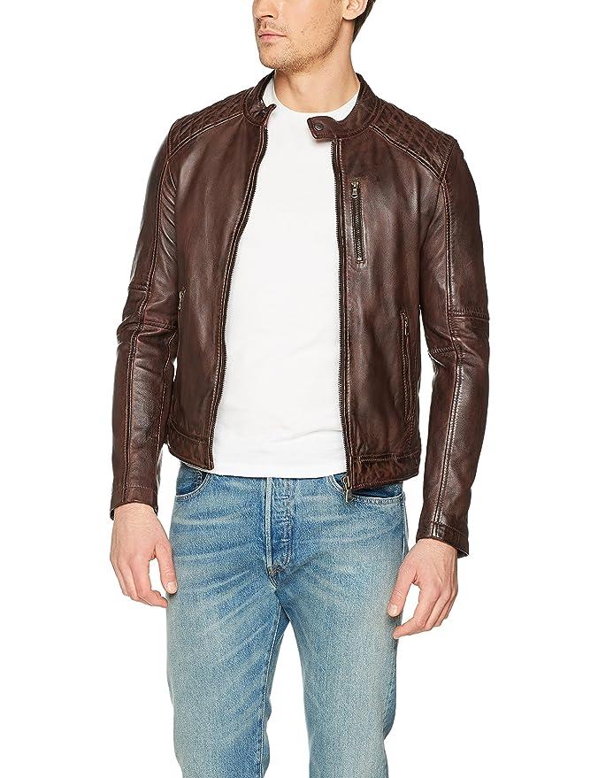Mens 62058-502-S Jacket, Marron (Marron), Small Oakwood