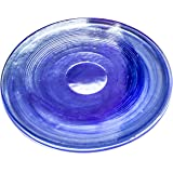 Thirstystone NT27101 Alabaster Glass Coasters (Set of 4), Dark Blue