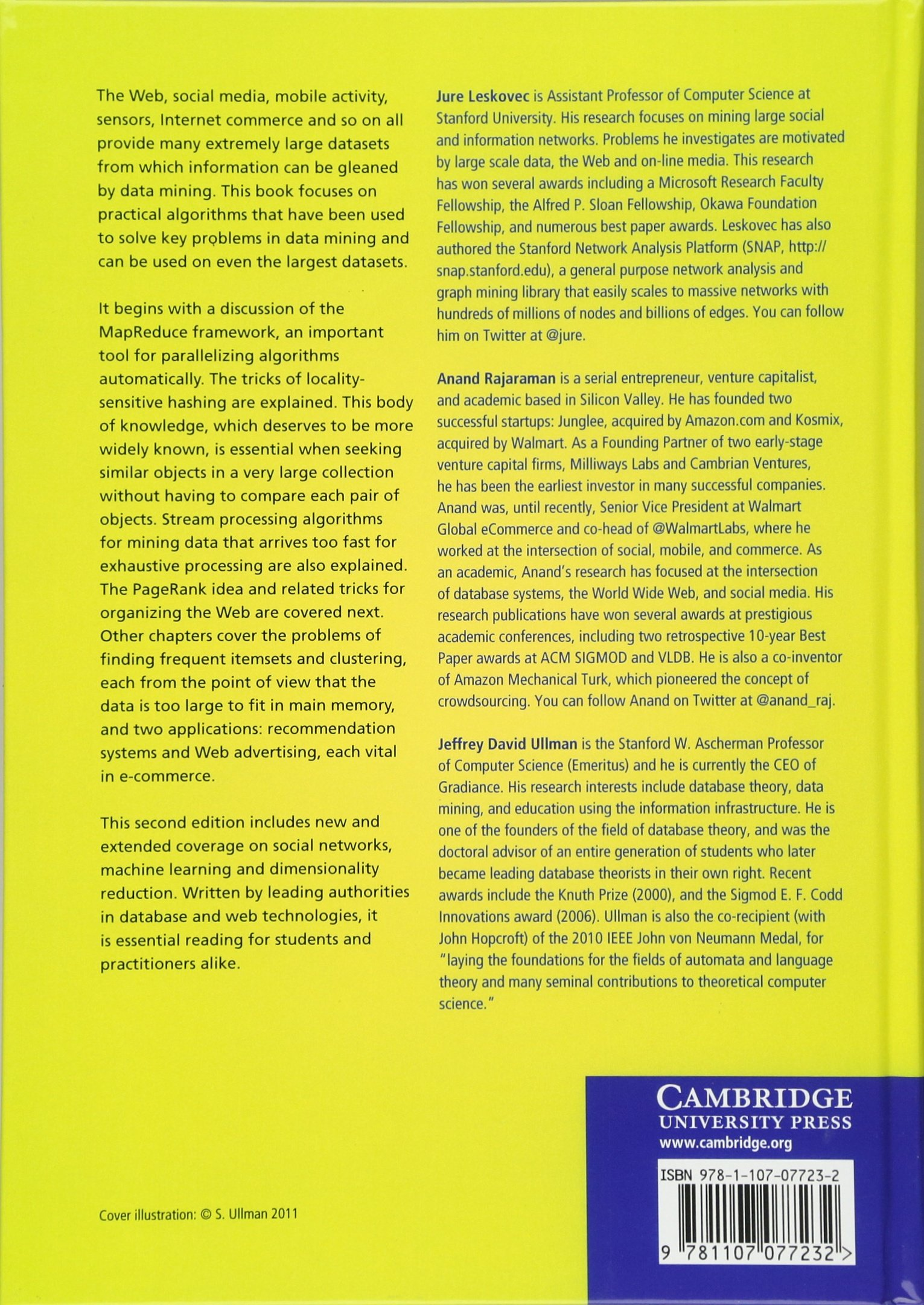 Mining of Massive Datasets: Amazon de: Jure Leskovec, Anand