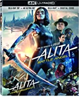 Alita Battle Angel (Bilingual) [4K UHD + 3D + Blu-ray + Digital Copy]