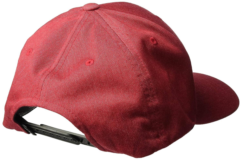 8a7472598 Fox Mens 110 Curved Bill Snapback Hat Bark OS 21997-374 Baseball Caps