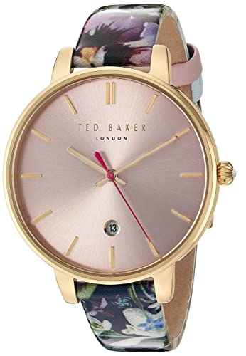 f01446081d55e Ted Baker Women s Analog Japanese-Quartz Watch with Leather Strap 10031542   Amazon.co.uk  Watches