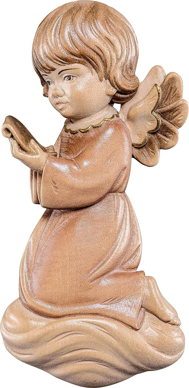 Deur Demetz Statua in Legno Dipinta a Mano Altezza Pari a 10 cm. Ferrari /& Arrighetti Angelo Pitti Che Canta