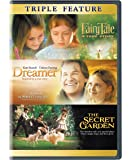 Fairytale: A True Story/Dreamer: Inspired by a True Story/Secret Garden (DVD) (Triple Feature)