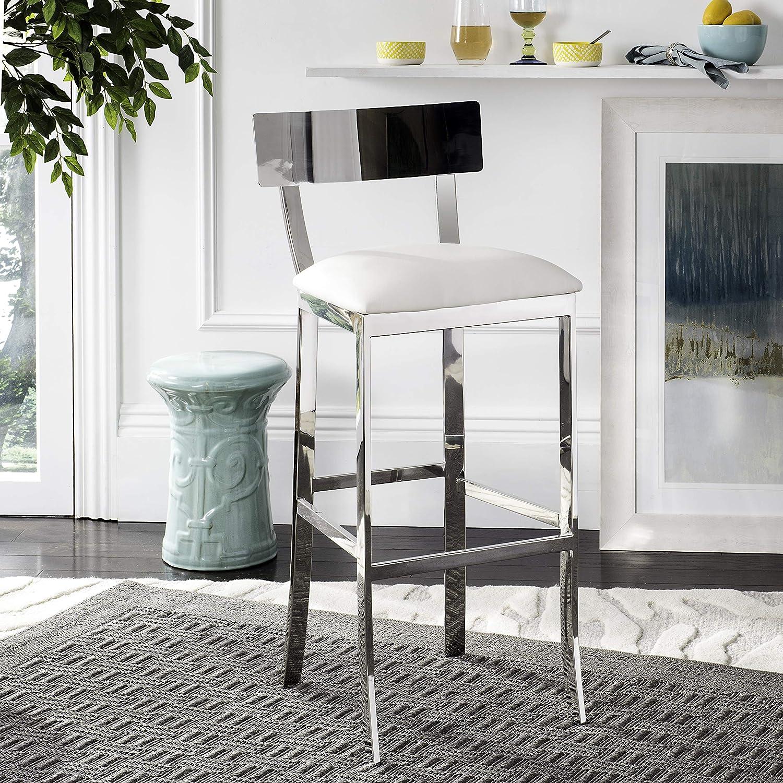 Pleasing Amazon Com Safavieh American Home Collection Abby Glam Machost Co Dining Chair Design Ideas Machostcouk