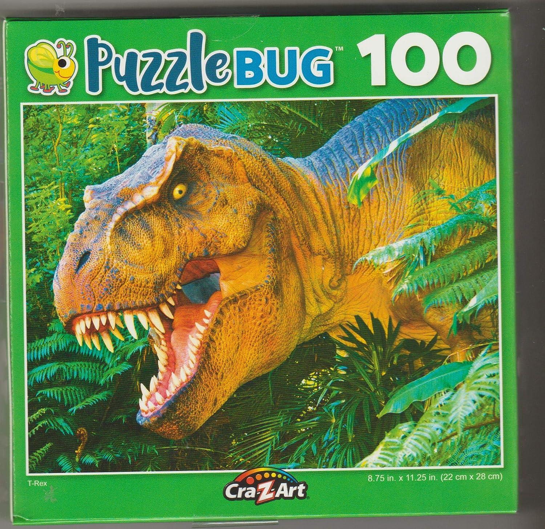 Puzzlebug 100 Piece Jigsaw Puzzle T-Rex by Puzzlebug