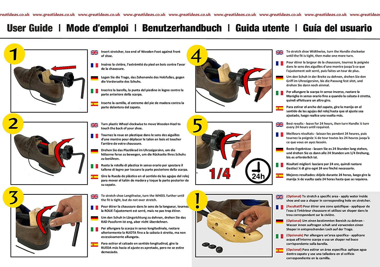 Medipaq - Estirador De Zapatos Para Damas x2 ¡Ponle Un Final a Tus Juanetes y Ampollas: Amazon.es: Zapatos y complementos