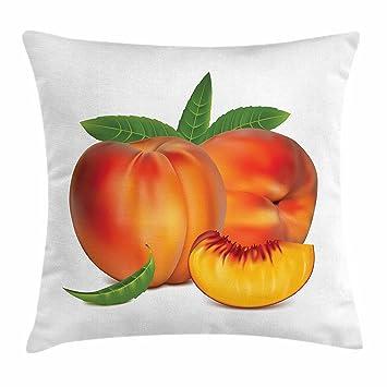 Amazon.com: Peach, para el hogar o la oficina, en forma de ...