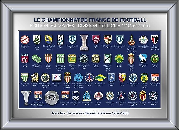 Collection de pins: Tous Les Champions de France en Ligue 1(1933-2018): Amazon.fr: Sports et Loisirs