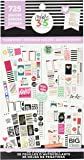 me & my BIG ideas Sticker Value Pack - The Happy Planner Scrapbooking Supplies - Classic Color Theme - Multi-Color…