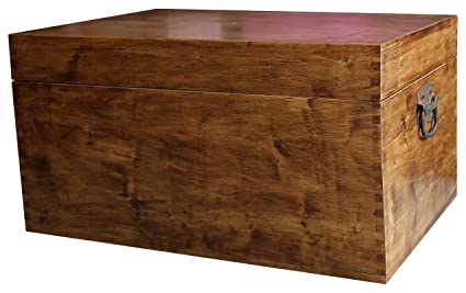 Victorian Style Blanket Box Trunk