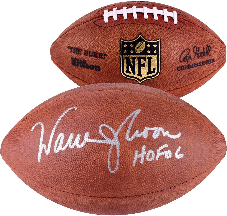 Warren Moon Houston Oilers Autographed Tagliabue Pro Football Autographed Footballs Fanatics Authentic Certified