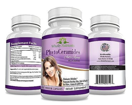 Wholly Nutrients Organic Vegan Phytoceramides