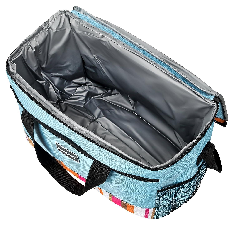 B.PRIME Classic Bolsa Nevera de 20 l Azul I 36 x 26 x 22 cm I ...